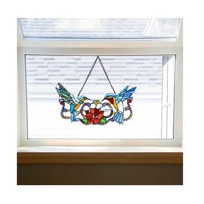 Suncatchers For Window Stained Glass Panel Decor Hanging Art Accessories Gift