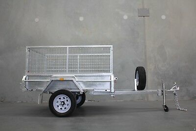 Amazing Package! $1549 Heavy Duty Galvanised 6x4 Cage Trailer