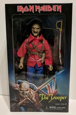 """Iron Maiden The Trooper 7"""" Action Figure Doll By Neca Reel Toys New"""