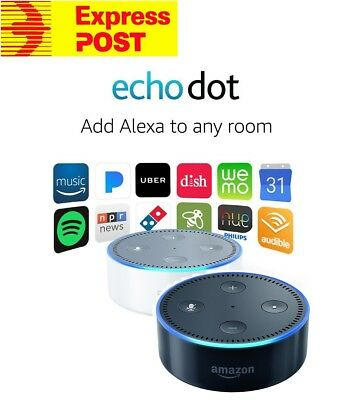 2017 Amazon Echo Dot 2nd Gen Alexa Voice Assistant Smart Home Fire TV Stick