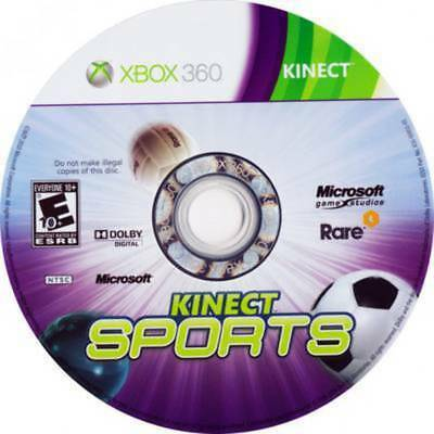 Kinect Sports (MP Condition, 2010, Disc Only) - Xbox 360 Video Games (GMG)