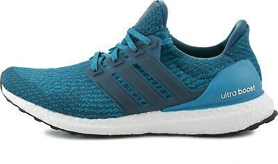best loved 72a83 fa64f NEW ADIDAS ULTRA Boost 3.0 Petrol Night Mystery Blue Men's Running Shoes  S82021