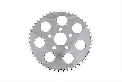 Chrome 43 Tooth Rear Sprocket,for Harley Davidson,by V-Twin