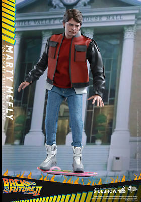 Hot Toys Back to the Future Marty McFly 12 Inch Action Figure MMS379