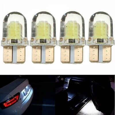 4x CANBUS T10 W5W 194 168 LED COB 8 SMD Kennzeichenbeleuchtung Innenraum Lampe