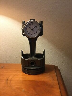 Ford 5.0 Piston Clock - Man Cave! - Desk Clock