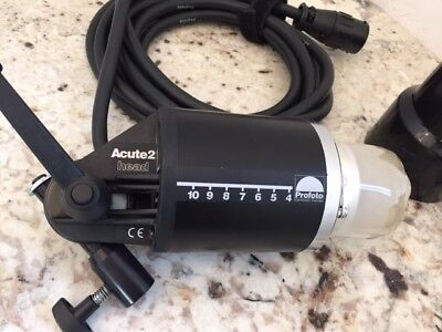 Profoto Acute2 Flash Head, works with Acute and D4 Flash Generators