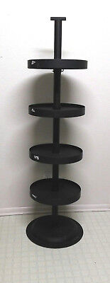 Free Standing Round Store Display Tiered Rack 63""