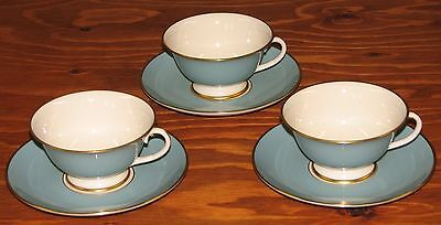 Franciscan Cup and Saucer (Palomar) Set of 3 Fine China Made in California