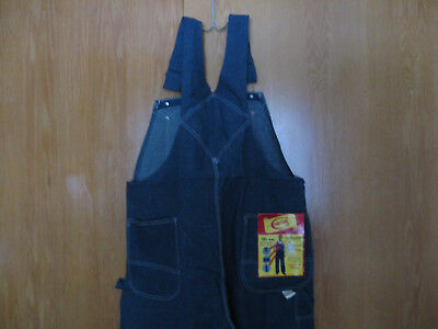 Vintage 40's-50's Era Cowden Denim Overalls Deadstock with Flasher 46 x 28