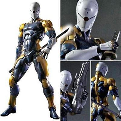 Play Arts Kai Metal Gear Solid Cyborg Ninja Grey Fox Action Figur Figuren IB New