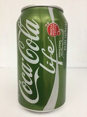 COCA COLA Life EVELYN COKE CAN Green Stevia from Chile