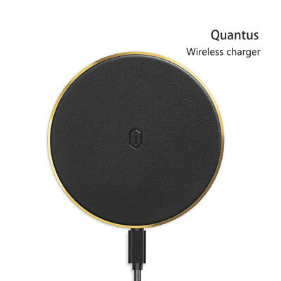 WiWU QC100BK Quantus Wireless Charging Dock for Qi Enabled Devices in Black