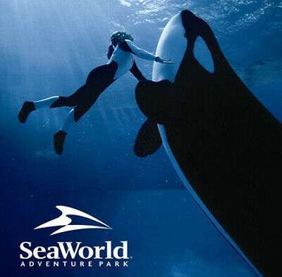 Seaworld Orlando Florida 4 Parks +Free Parking A Promo Discount Savings Tool