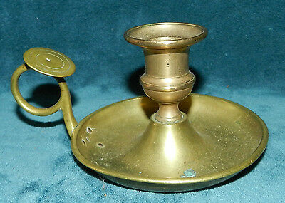 Fabulous Early Antique/vintage Brass Candle Holder!!