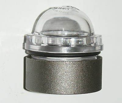 """Sight glass MZ RIV 2"""" Dome shape with weld on ring for Slurry Tanker"""