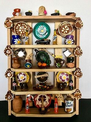Hand-Made Mexican/Mexico Folk Art Kitchen Pantry Wall Decoration Arte Popular
