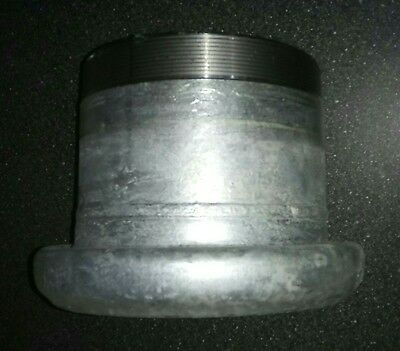"""6"""" Bauer female coupling 6"""" thread fits gate valve slurry tanker w o-ring"""