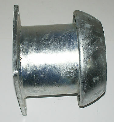 """6"""" Perrot male coupling square flange bolt on piece slurry tanker galvanised"""