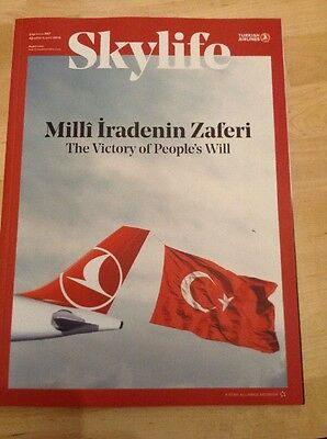 Turkish Airlines inflight magazin ( THY )Bordmagazin 08/2016 ** RAR ** TÜRKCE