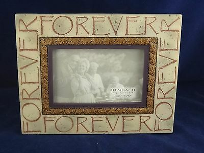 Demdaco Heartstone Forever 4 X 6 Tabletop Or Wall Hanging Picture Frame Nib