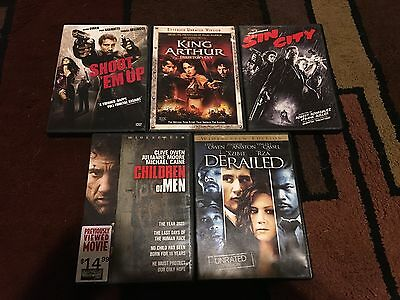 Lot Of 5 Clive Owen Movies, Dvds
