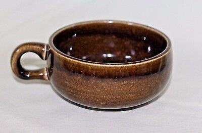 Russel Wright Coffee Cup in American Modern Brown by Steubenville