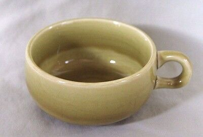 Russel Wright Coffee Cup in American Modern Chartreuse by Steubenville