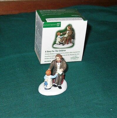DEPT 56 DICKENS VILLAGE ' Accessory A STORY FOR THE CHILDREN