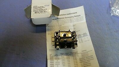 1 - MARS 90340 DPDT/24V SWITCHING RELAY 90-340 HVAC R8222D1014.  NEW in Box