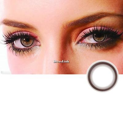 Large Diameter Eyes Colore Contatti Lens Cosplay Beautiful Eyes Makeup DL0 01