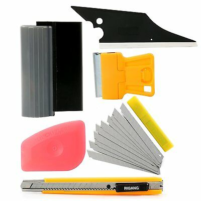 6 in 1 Automotive Window Film Wrap Tint Application Vehicle Car Tools Set Kit