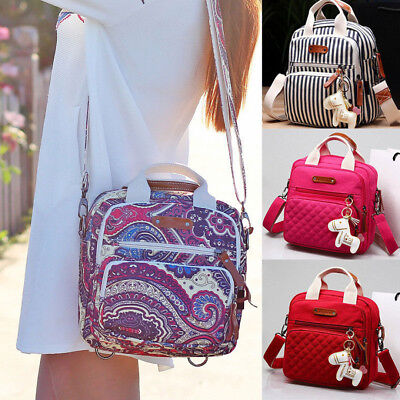 Mummy Handbag Tote Shoulder Bags Backpack Multifunction Baby Nappy Diaper Bag
