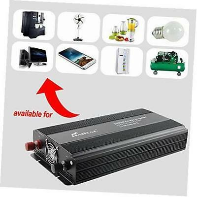 3000W Modified Wave DC 12V to AC 110V Car Power Inverter  Multi-function