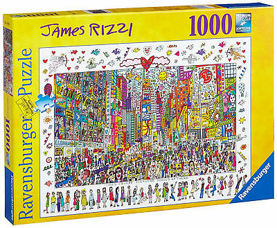 Ravensburger 19069 - James Rizzi - Times Square NEU/OVP