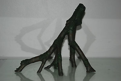 Large Aquarium Detailed Mangrove Tree Root Stump Decoration 30 x 14 x 25 cms