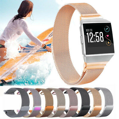 Milanese Magnetic Stainless Steel Replacement Spare Band Strap for Fitbit Ionic