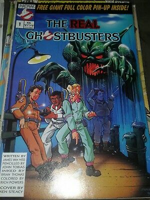 The Real Ghostbusters #1