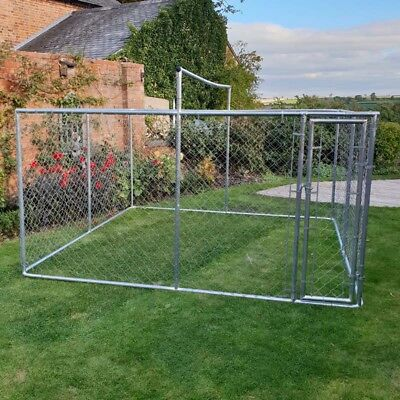 Chicken Run 3M X 3M Walk In Coop For Poultry Dog Run Hen Cage Pen Metal Door