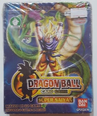Dragon Ball Card Game Serie 1 Super Sayan Bandai Preziosi Collection Nuovo