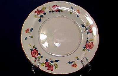 """Chinese Flowers by WEDGWOOD R4498 Williamsburg ~ Set of 2 ~ Salad Plates  8 3/8"""""""