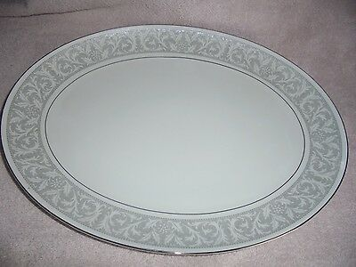 "Imperial China By W. Dalton Japan 5671 Whitney Serving Oval Platter Meat 16"" EUC"