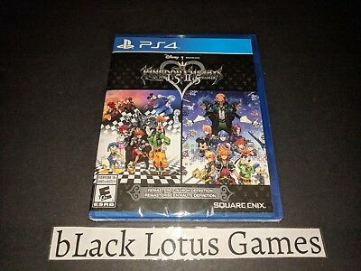 NEW Sealed Kingdom Hearts PS4 HD 1.5 + 2.5 Remix PlayStation 4 Remastered