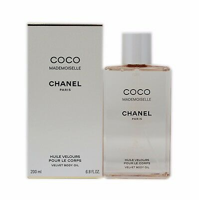 5e7750a7fd CHANEL COCO MADEMOISELLE Velvet Body Oil 200 Ml/6.8 Fl.oz.nib ...