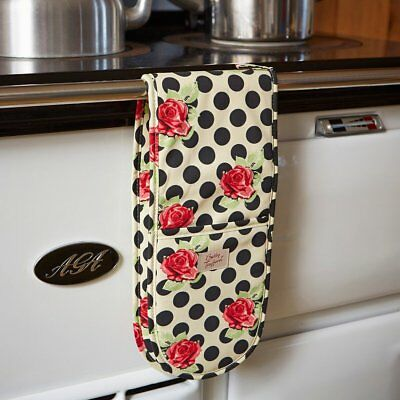 Double Oven Glove Audrey for AGA /Rayburn 100% Cotton by Betty Twyford