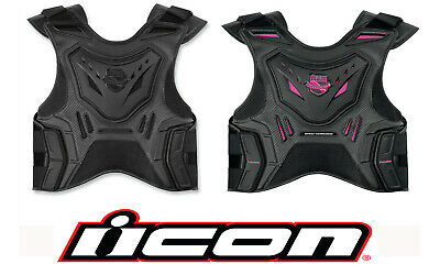 ICON Motosports Womens Field Armor Stryker Motorcycle Vest  Choose Size / Color