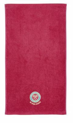 WIMBLEDON GUEST PINK TOWEL BRAND NEW IN PRESENTATION PACK CHRISTY