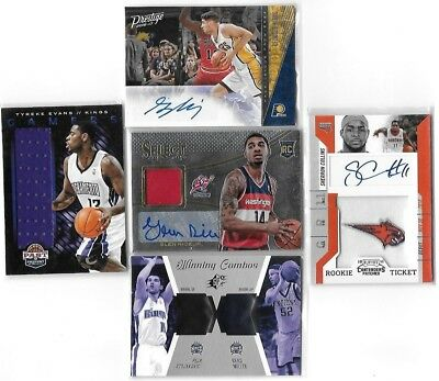 1500 NBA Trading Cards - Mega Lot - Jerseys, Autogramme, Inserts - TOP!