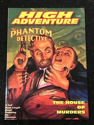 High Adventure 68 - The Phantom Detective - The House of Murders NEW 2003