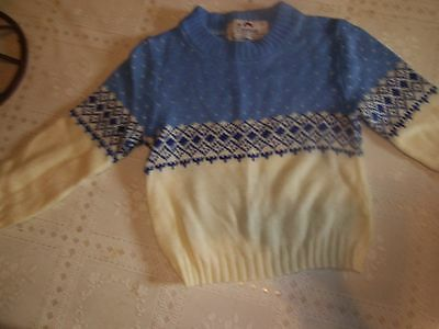~Adorable Antique / Vintage  Baby Sweater...3.49..18 - 24 Months.